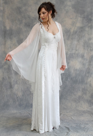 Medieval and Celtic Wedding Gowns | Custom Storybook Wedding Gowns ...